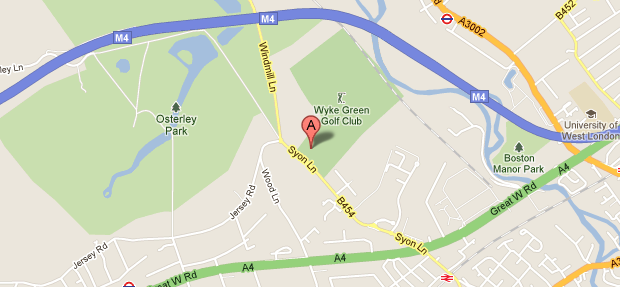 Our location on Google Maps - Complete Tree Care, Isleworth.