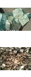 Domestic fire logs for sale, available in tonnes.
